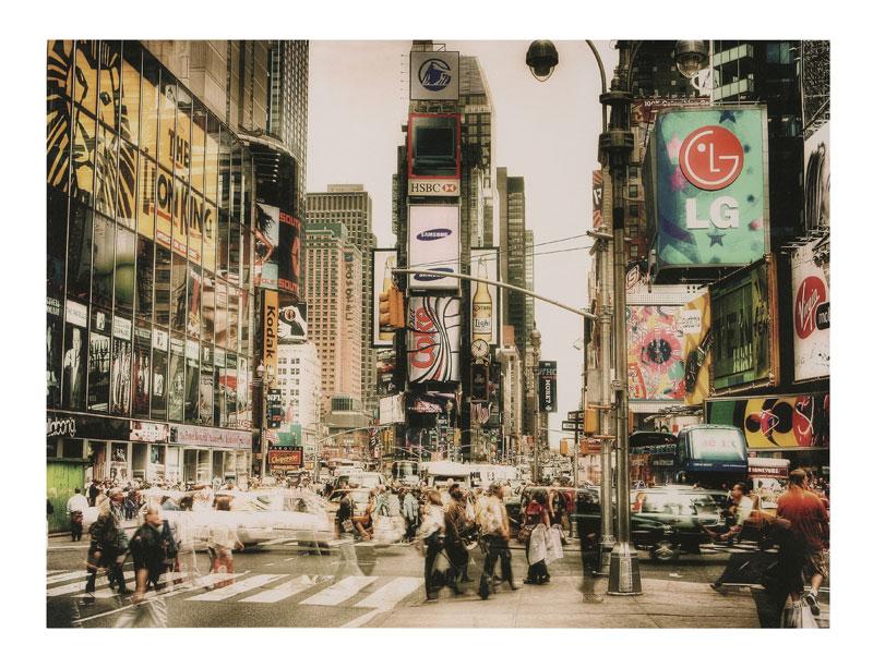 New York Leinwandbild ~ Fotodruck auf leinwand new york times square lg u2013 accessoires u2013 deko