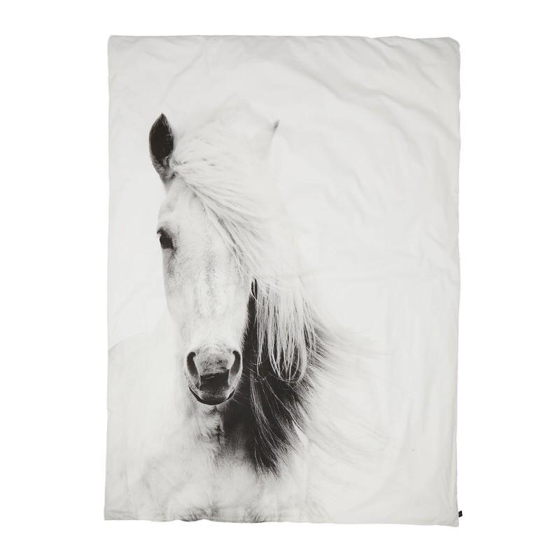 bettbezug pferd 240 x 220 cm by nord accessoires deko bettw sche freudenhaus designkaufhaus. Black Bedroom Furniture Sets. Home Design Ideas