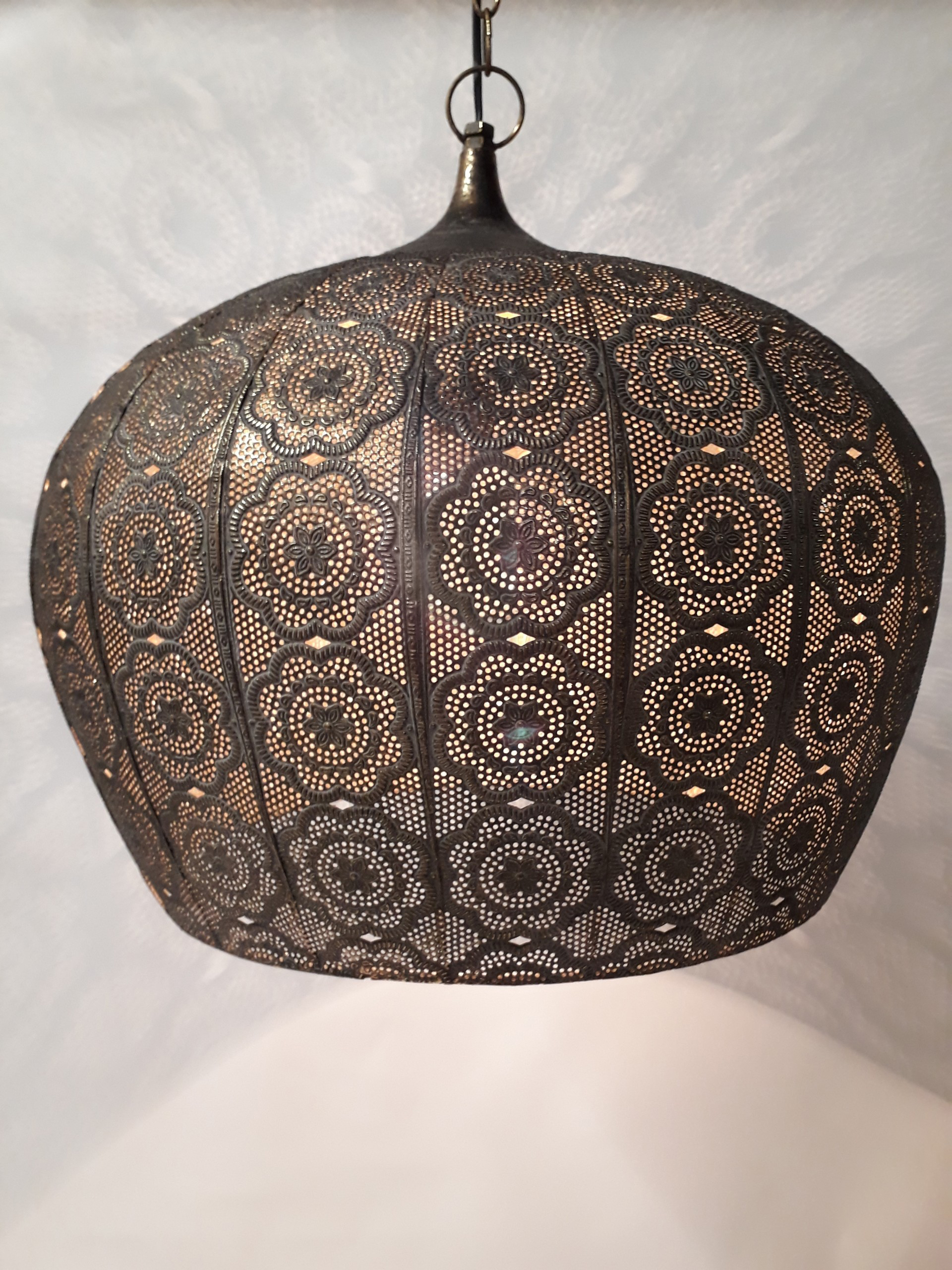 h ngelampe marokko oriental metall beleuchtung h ngelampen freudenhaus designkaufhaus. Black Bedroom Furniture Sets. Home Design Ideas