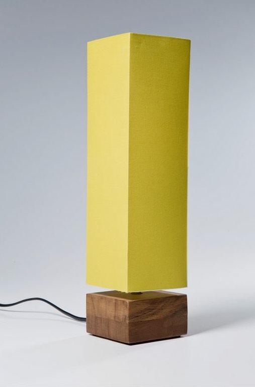 Kare tischlampe wood lime gr n beleuchtung tischlampen for Kare lagerverkauf