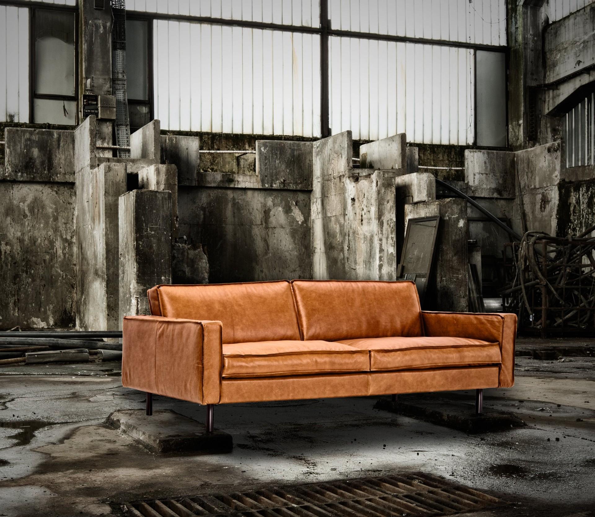 ledersofa gaucho vintage anilin cognac 3 sitzer 190 210 cm m bel wohnen sessel sofas. Black Bedroom Furniture Sets. Home Design Ideas