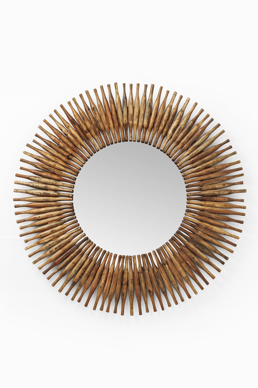 Spiegel Sonnenlicht Holz Retro 120 Cm Kare M Bel