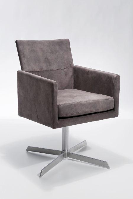kare drehsessel dialog braun drehstuhl m bel wohnen. Black Bedroom Furniture Sets. Home Design Ideas