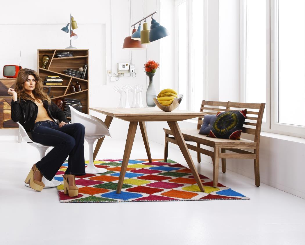 Esstischset massivholz 160 x 90 cm tisch   bank valencia 170 cm ...