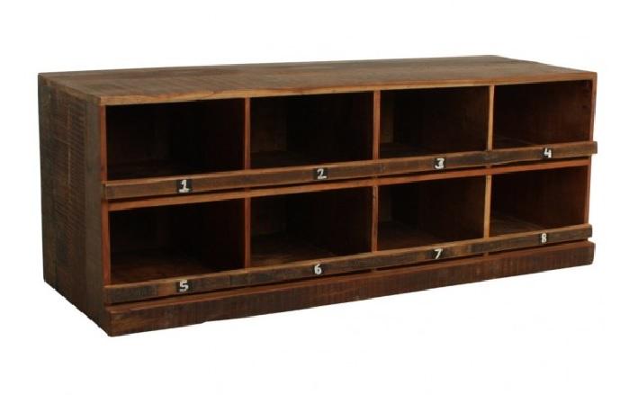 vintage schuhschrank schuhregal old wood shabby chic m bel wohnen garderoben freudenhaus. Black Bedroom Furniture Sets. Home Design Ideas
