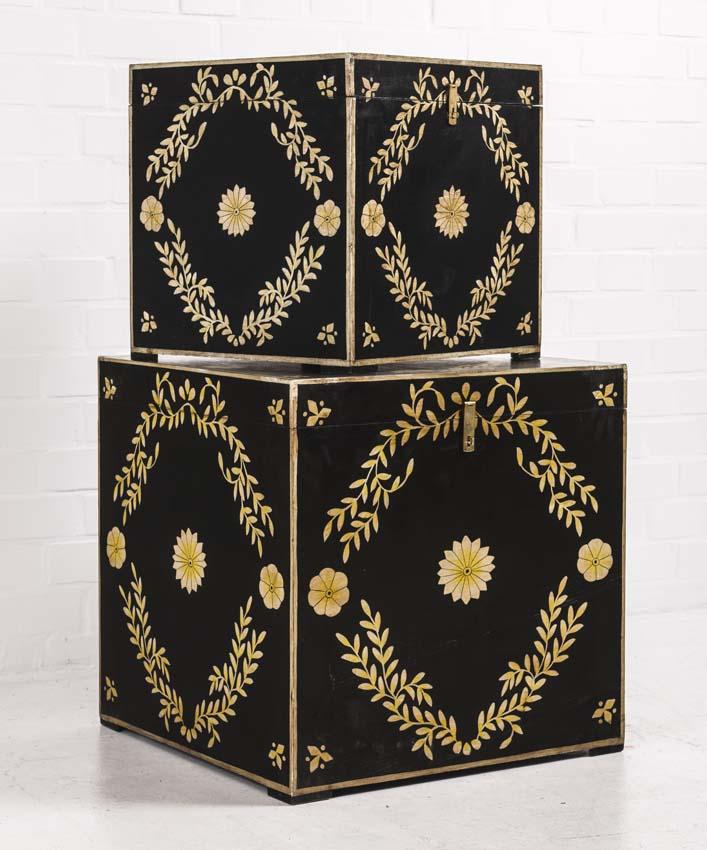truhe vintage barock gro accessoires deko aufbewahrung freudenhaus designkaufhaus. Black Bedroom Furniture Sets. Home Design Ideas