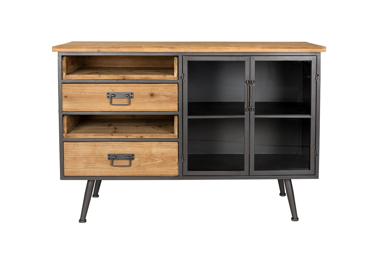 industrial sideboard vintage damian m bel wohnen sideboards freudenhaus designkaufhaus. Black Bedroom Furniture Sets. Home Design Ideas