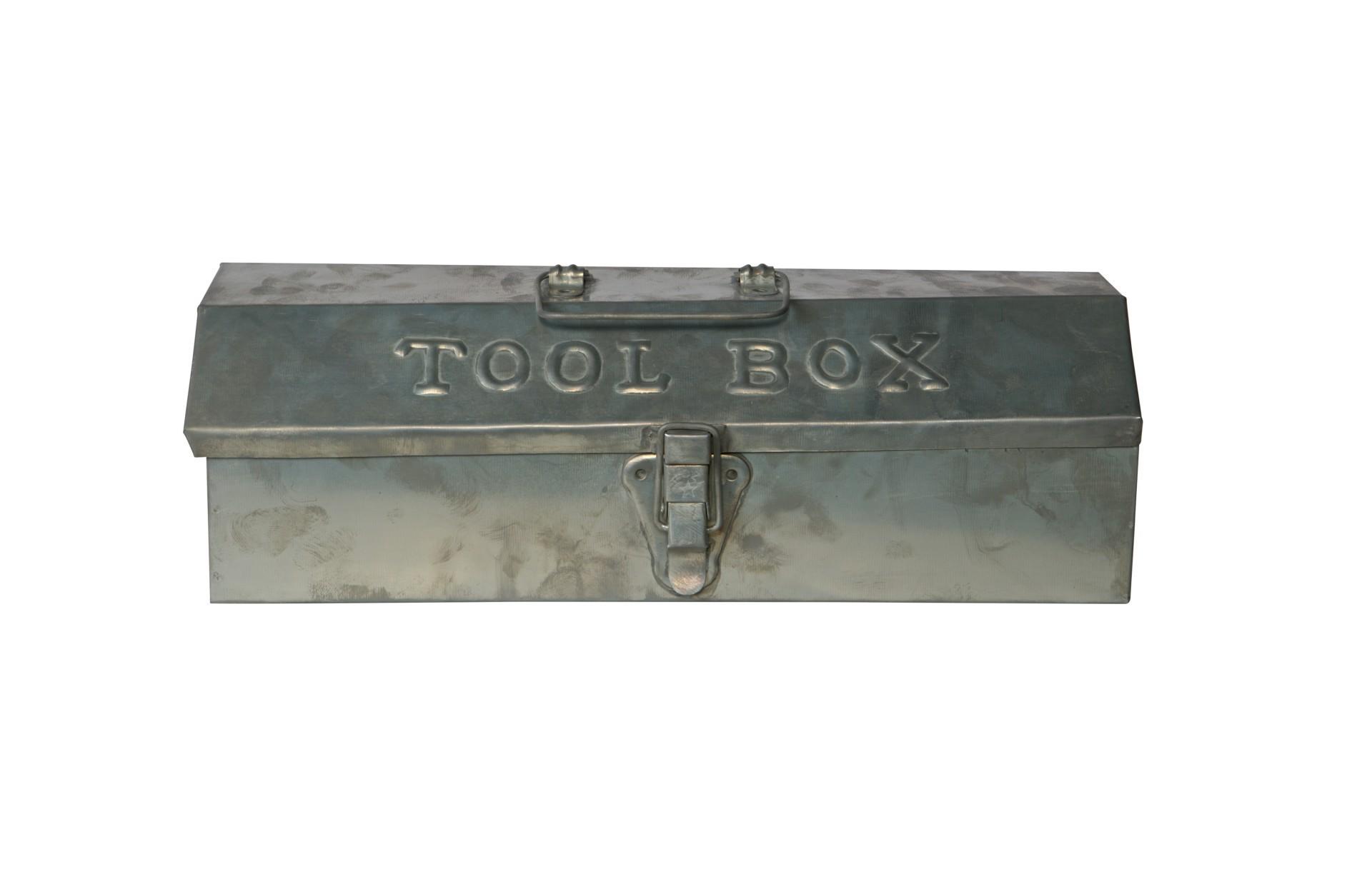 Vintage werkzeugkiste metall – accessoires – geschenke – geschenke ...