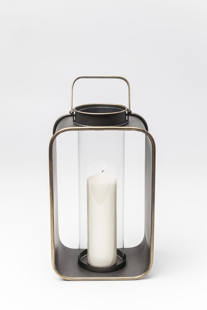 Teelichthalter Windlicht Curve Uno Laterne Kare